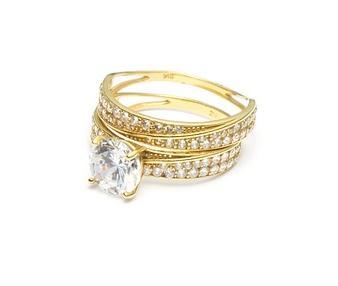 Diamantring - Brillantring Hochzeitsgeschenk